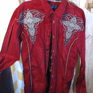 Roar Buckle Men's Shirt